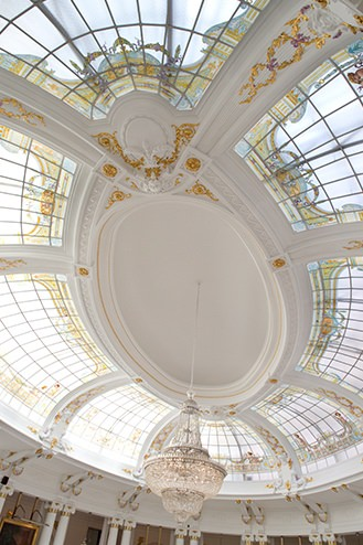 Le Negresco - Salon Royal - Verriere